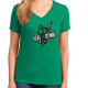 Reid Stingers Ladies V Neck Cotton Tee